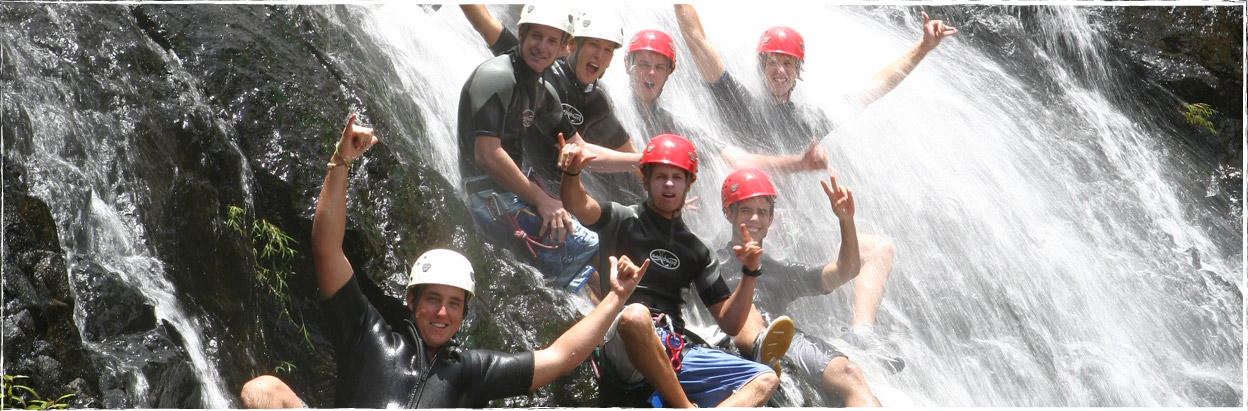 Enjoy the fun, contact Otelair for your canyoning needs